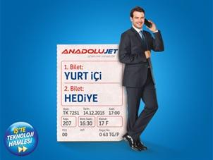 AnadoluJet ile Uçmayan Turkcell'li İşletme Kalmasın
