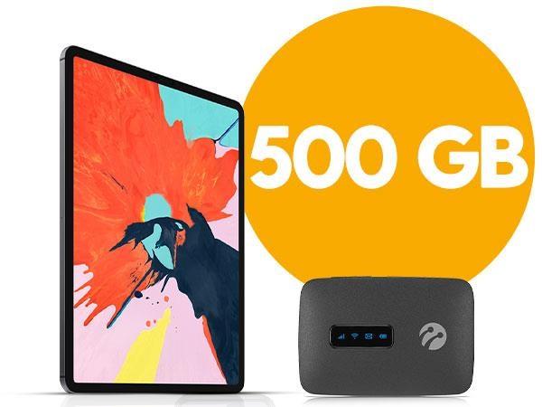 Mobil Wifi 500 GB