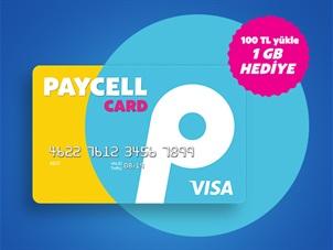 Paycell Card Al Kullan 3 GB İnternet Kazan