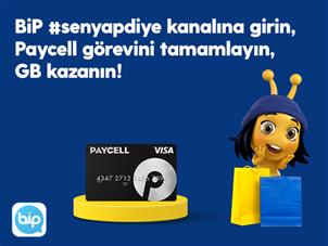 #SenYapDiye Paycell Kart ile Kazan Kampanyası