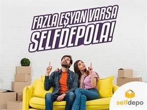 SelfDepo ile Depolama Hizmetlerinde Avantaj