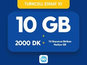 Satın Al Turkcell Esnaf 10