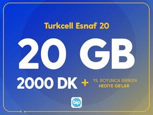 Satın Al Turkcell Esnaf 20