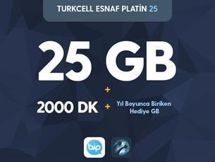 Satın Al Turkcell Esnaf Platin 25