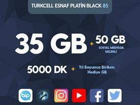 Turkcell Esnaf Platin 85