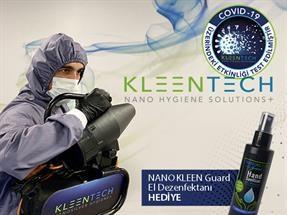Kleentech ile Dezenfeksiyon Hizmetlerinde Avantaj