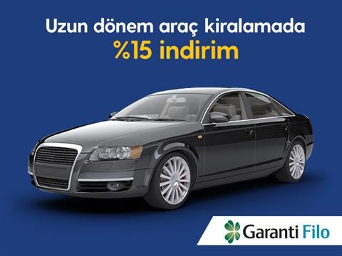 Turkcell'li İşletmeler Uzun Dönem Kiralamada Garanti Filo İle Avantajlı!