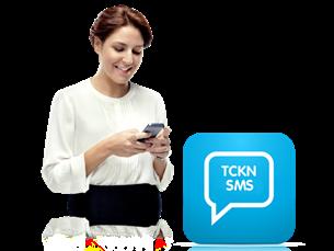TC Kimlik NO'ya SMS