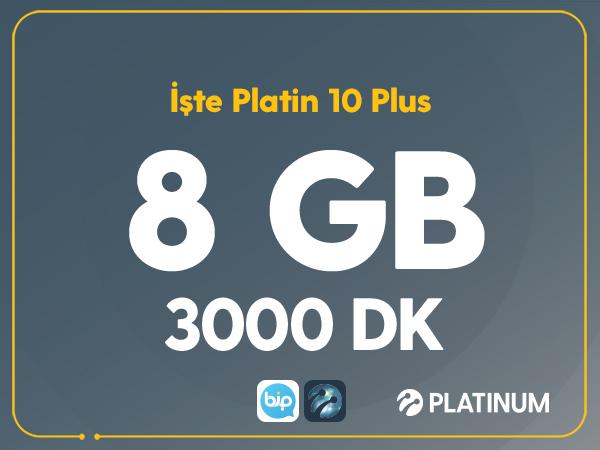 İşte Platin 8 Plus