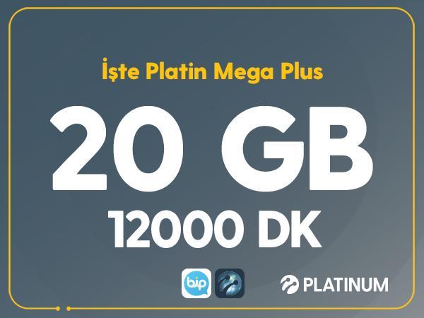 İşte Platin Mega Plus