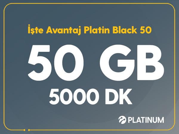 İşte Süper Platin Black 50