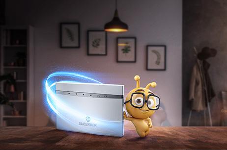 Ev İnternetinde Fark Yaratan Yenilik Superbox!
