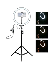 E2M 10 inç Ring Light LED Youtuber Çekim Işığı