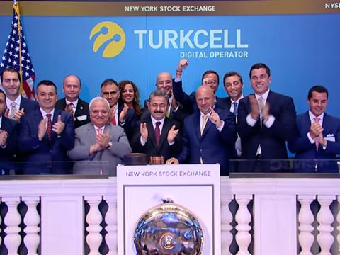 Turkcell, 17 Yıldır New York Borsası'nda