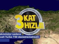 3 Kat Hızlı 3 Taşıyıcılı İnternet Teknolojisi Turkcell'lilerin Hizmetinde
