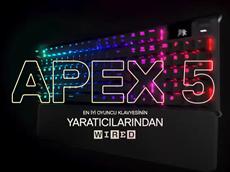 SteelSeries Apex 5 Oyuncu Klavyesi