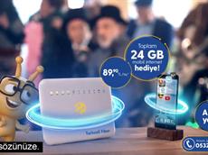 Turkcell Fiber Cebinize Taşıyor!