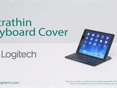 Logitech Ultra İnce Klavyeli iPad Air Koruma Kılıf