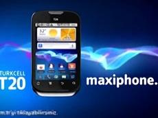 Maksimum ekran Maxiphone T20'lerde
