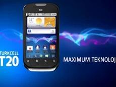 Maksimum teknoloji Maxiphone T20'lerde