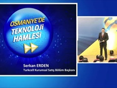 Osmaniye Teknoloji Hamlesi  Açılışı Serkan Erden