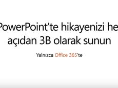 PowerPoint 3D Özelliği