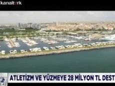 Turkcell atletizm ve yüzmeye 28 milyon TL destek veriyor - KanalTürk