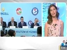 Turkcell atletizm ve yüzmeye 28 milyon TL destek veriyor - ShowTV