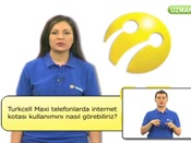Turkcell Maxi Telefonlarda İnternet Kotası Kullanımını Nasıl Görebiliriz?