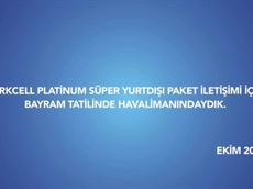 Turkcell Platinum Süper Yurt Dışı Paketi